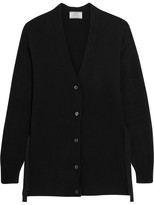 Prada Wool And Cashmere-blend Cardigan - Black