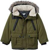 Osh Kosh Toddler Boy Hooded Faux-Fur Jacket