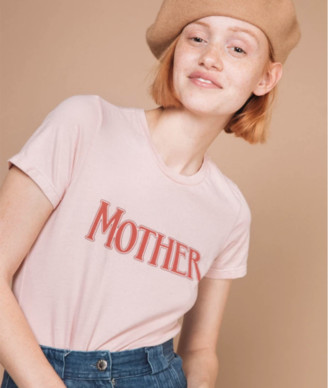 The Bee & The Fox - MOTHER PRINT PINK T SHIRT - SML