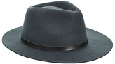 John Lewis & Co. Wool Felt Fedora Hat, Green