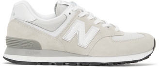 New Balance Grey 574 Core Sneakers
