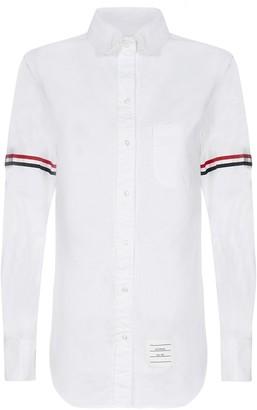 Thom Browne Classic Striped Sleeve Shirt