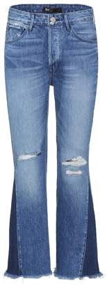 3x1 Higher Ground Gusset cropped jeans