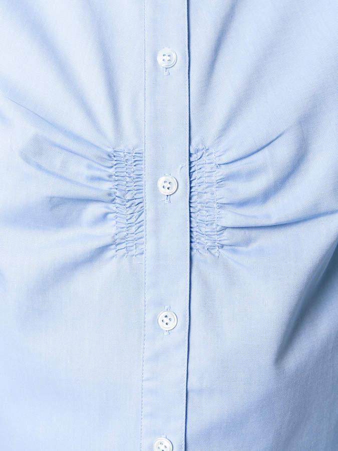Tibi shirt with gathered front
