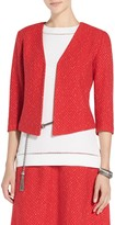 St. John Back Slit Cavalla Knit Jacket