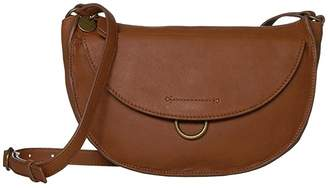 Lucky Brand Vala Crossbody (New Cognac) Handbags