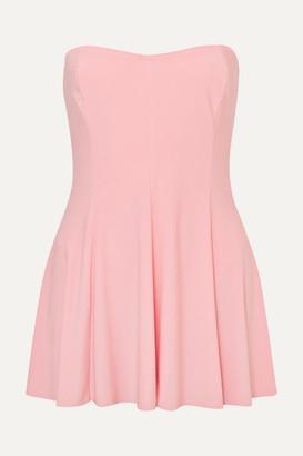 Norma Kamali Strapless Swim Dress - Pastel pink