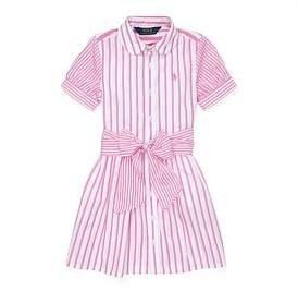 Polo Ralph Lauren Striped Cotton Shirtdress (2-4 Years)