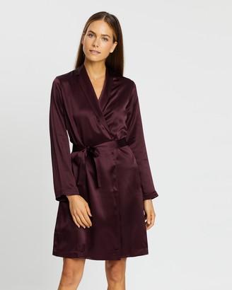La Perla Silk Dressing Gown