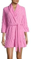 Juicy Couture Textured Ruffled Robe
