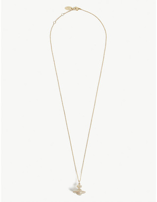 Vivienne Westwood Women's Aurore Boreale and Gold Orb Design Grace Small Pendant