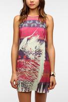 Silky Wolf-Print Dress
