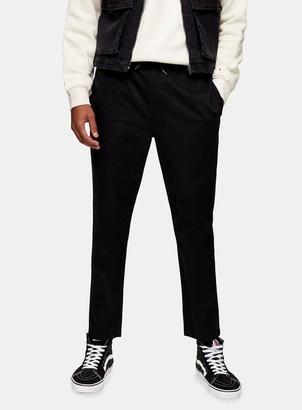 Topman Black Jogger Trousers