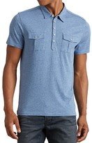 John Varvatos Flap Pocket Regular Fit Polo Shirt