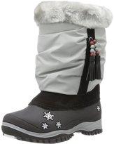 Baffin Girls Sasha Toddler Faux Fur Snow Boots Gray
