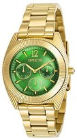 Invicta Women's 'Angel' Quartz Stainless Steel Casual Watch, Color:Gold-Toned (Model: 23749)