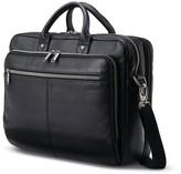 Samsonite Toploader Leather Messenger Bag