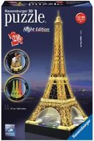 Ravensburger Eiffel Tower Night Edition Puzzle - 216 Pieces