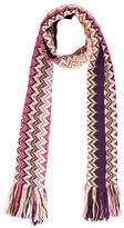Missoni Chevron Knit Scarf