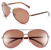 Lilly Pulitzer 'Parrish' 63mm Polarized Sunglasses