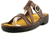 Naot Footwear GENEVA Women US 7 Brown Slides Sandal