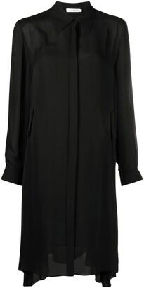 Dorothee Schumacher Belted Silk Shirtdress