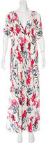 Thakoon Floral Print Maxi Dress