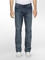 Calvin Klein Slim Straight Leg Chalked Indigo Jeans