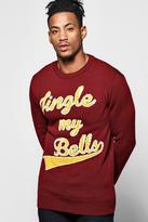 Boohoo Jingle My Bells Christmas Jumper