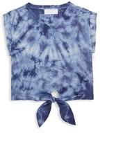 Bella Dahl Little Girl's & Girl's Tie Hem T-Shirt