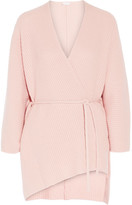 Eres Morning Wool And Cashmere-blend Cardigan - Baby pink