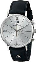 Maurice Lacroix Men's EL1088-SS001-110 Eliros Analog Display Analog Quartz Black Watch