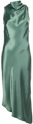 Nomia Metallic Sheen Asymmetric Dress