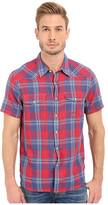 Lucky Brand Short Sleeve Santa Fe Western Shirt