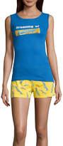 Asstd National Brand Tank and Short Pajama Set