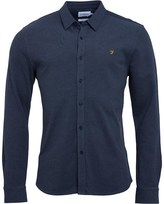 Farah Mens Matford Jersey Shirt Spruce