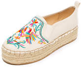 Sam Edelman Carrin II Embroidered Espadrilles