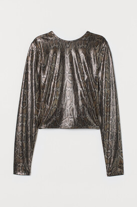 H&M Top with a Sheen