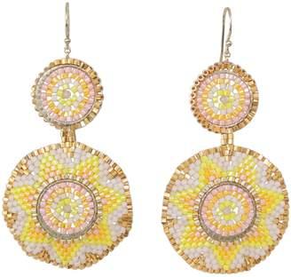 LeJu London Summer Earrings In Bright Colours