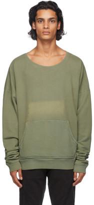 Greg Lauren Green Army Sweatshirt
