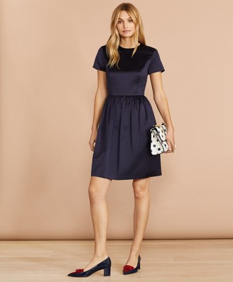 Brooks Brothers Satin Dress