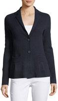 Raffi Cashmere Peplum Jacket