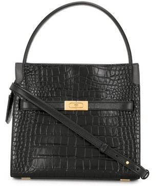 Tory Burch small Lee Radziwill double tote bag