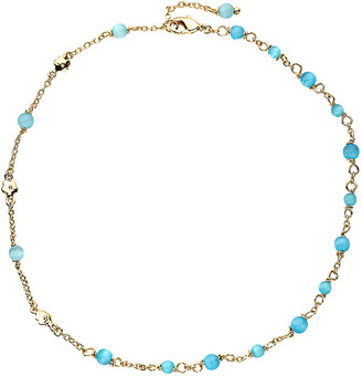 Little Miss Twin Stars Cat Eye 14K Plated Enamel Bracelet