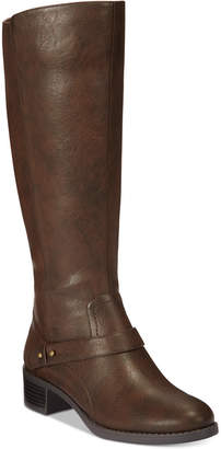 Easy Street Shoes Jewel Wide-Calf Riding Boots Women Shoes