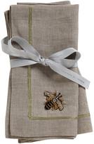 Joanna Buchanan Bee Napkin - Set of 2 - Flax
