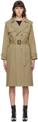 A.P.C. Beige Simone Trench Coat