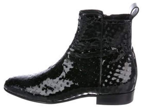 d71a7762094 Patent Leather Ankle Boots black Patent Leather Ankle Boots