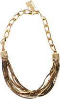 Lanvin Art Deco Short Necklace