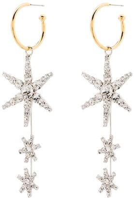 Jennifer Behr Alax star hoop earrings